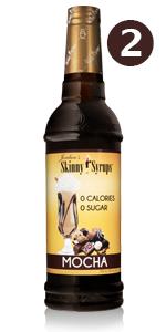 2 pack mocha coffee syrup