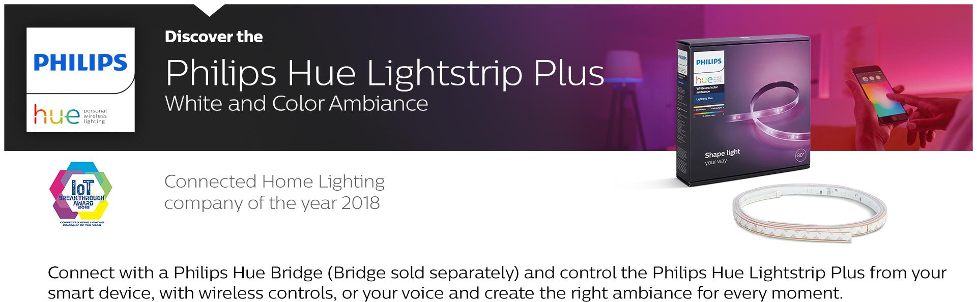 Amazon Com Philips Hue White And Color Ambiance