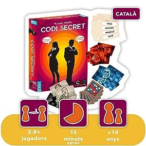 Devir - Código Secreto, Juego de Mesa, Idioma catalán (BGCOSECAT): Amazon.es: Juguetes y juegos