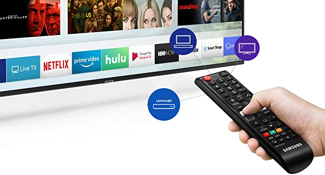 Samsung OneRemote automatically detects and controls compatible devices