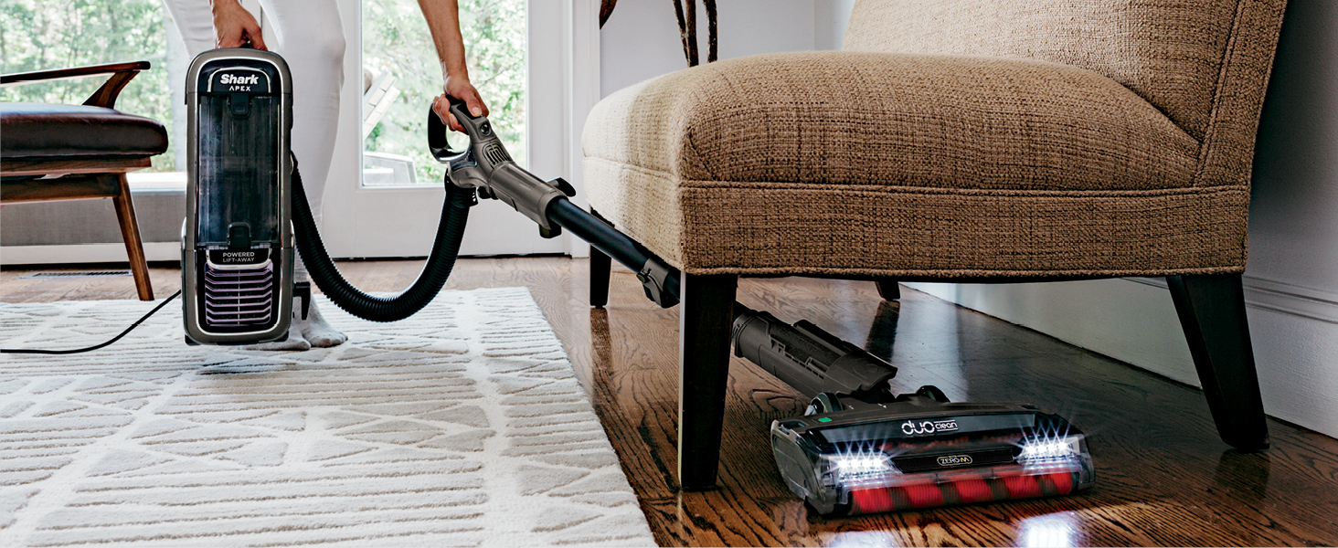 under furniture cleaning, lift away the pod, detachable pod, detachable canister