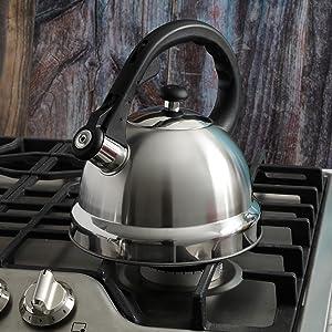 gibson mr coffee tea water kettle stove lid