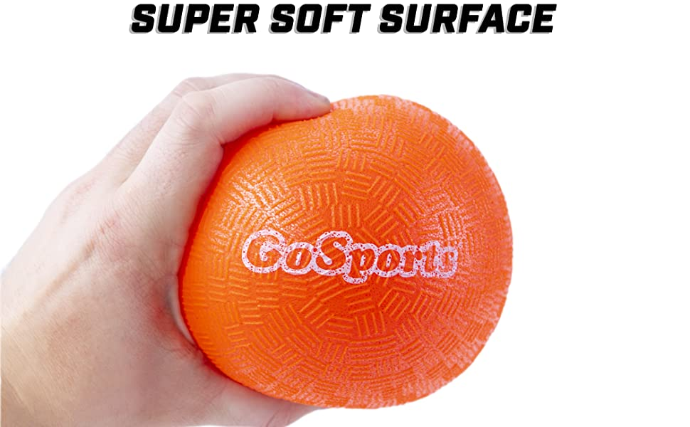 gosports dodgeball sting free soft touch playground ball school camps gyms teacher parents bounce