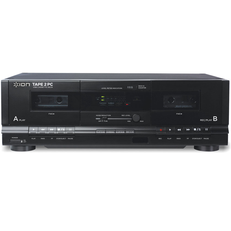 Amazon Com Ion Audio Tape 2 Pc Usb Cassette Deck