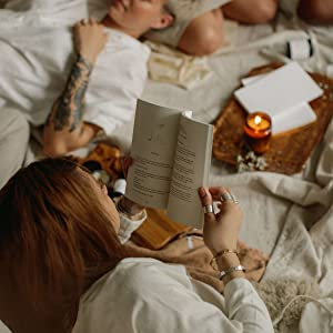 book,poem,interior,inside,candle,fall,winter,coven,women,empowerment,ring,jewelry,tatoo,hair