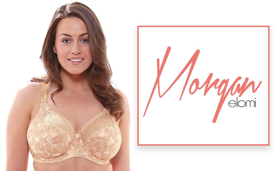 morgan, elomi, elomi lingerie, full figure, plus size, spacer, bra, bras, lingerie