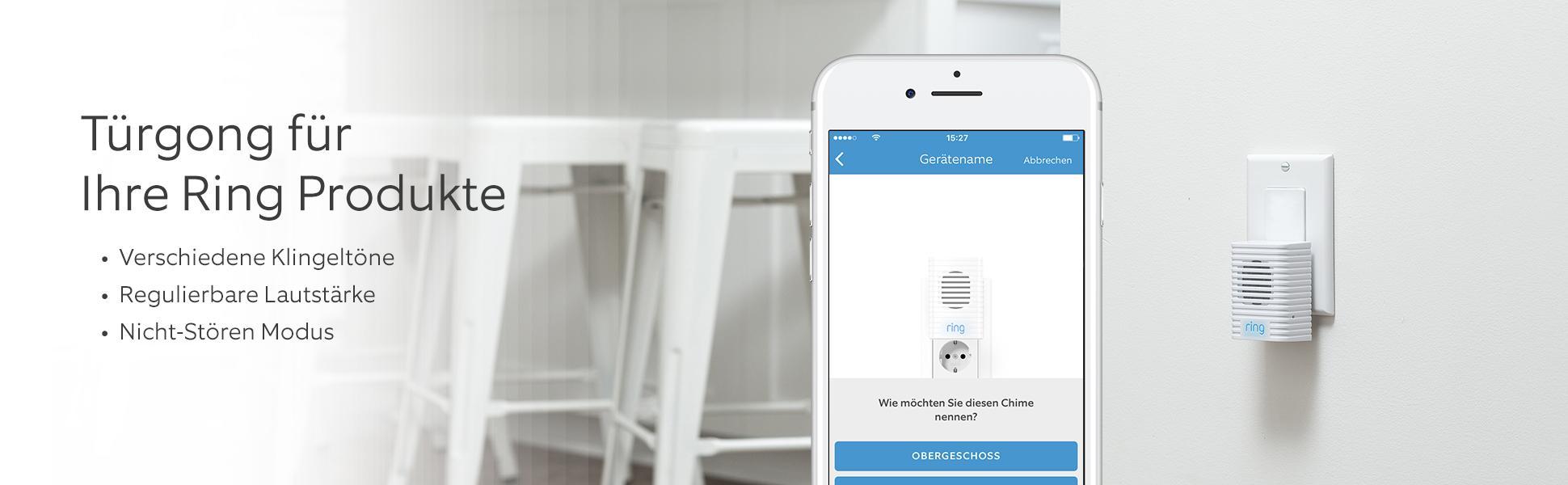 ring 8ac3s5 0eu0 chime gong f r video t rklingel 240 v. Black Bedroom Furniture Sets. Home Design Ideas