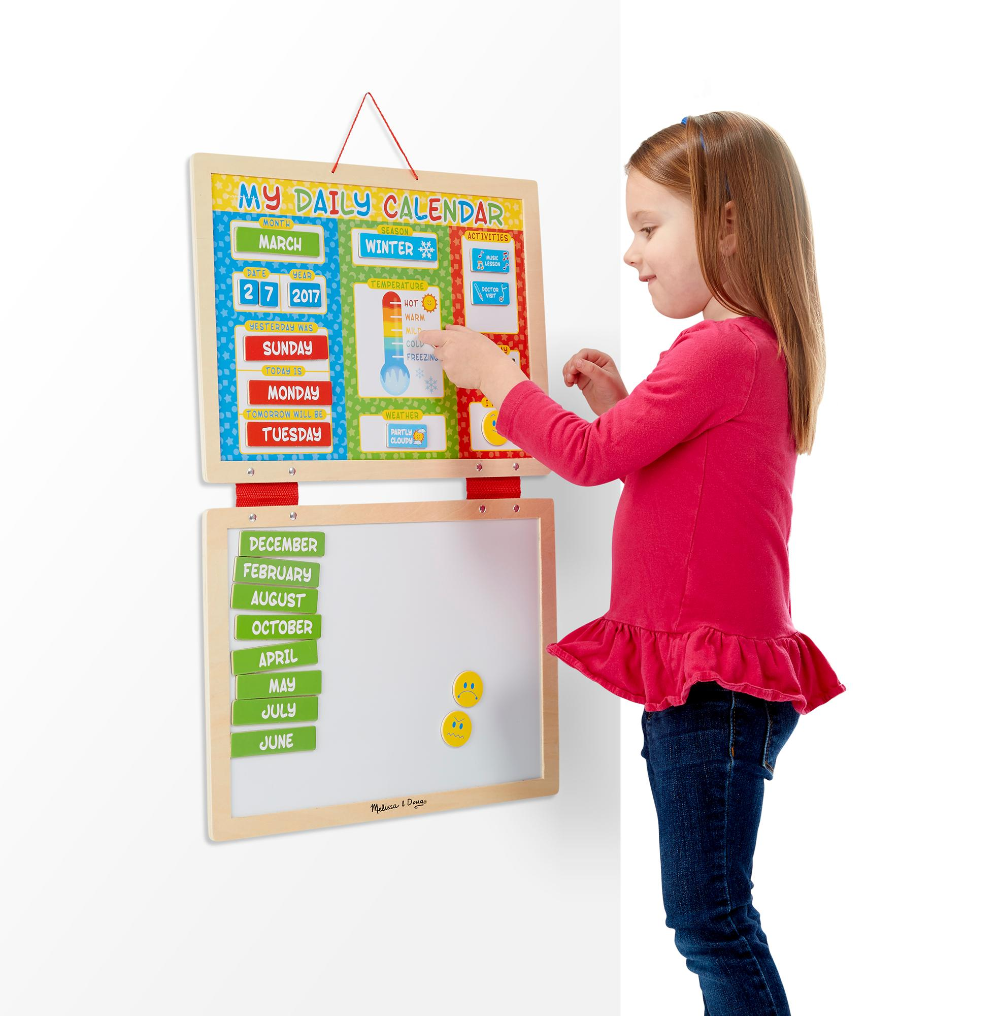 Amazon Melissa & Doug My First Daily Magnetic Calendar