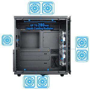 E 3.0 16X Graphics Card Vertical Kickstand Standoff DIY ATX Case Happy nest PCI