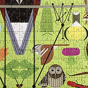 harper puzzling heron jigsaw