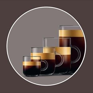 lungo alto expresso krups machine à café nespresso vertuo + plus