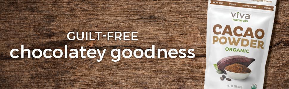 guilt-free chocolatey goodness