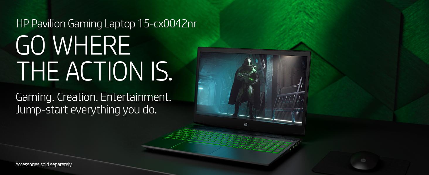 hp pavilion gaming laptop 15-cx0042nr