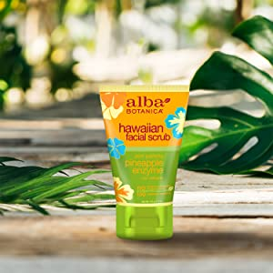 Alba Botanica Pore Purifying Pineapple Enzyme Hawaiian Facial Scrub