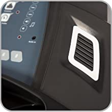 Elite Runner Treadmill Audio Speakers and MP3 Input