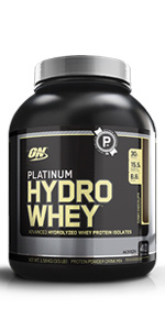 Platinum Hydro, Optimum Nutrition, ON Hydro Whey Protein Powder, Protein, 100% Hydro Whey Protein