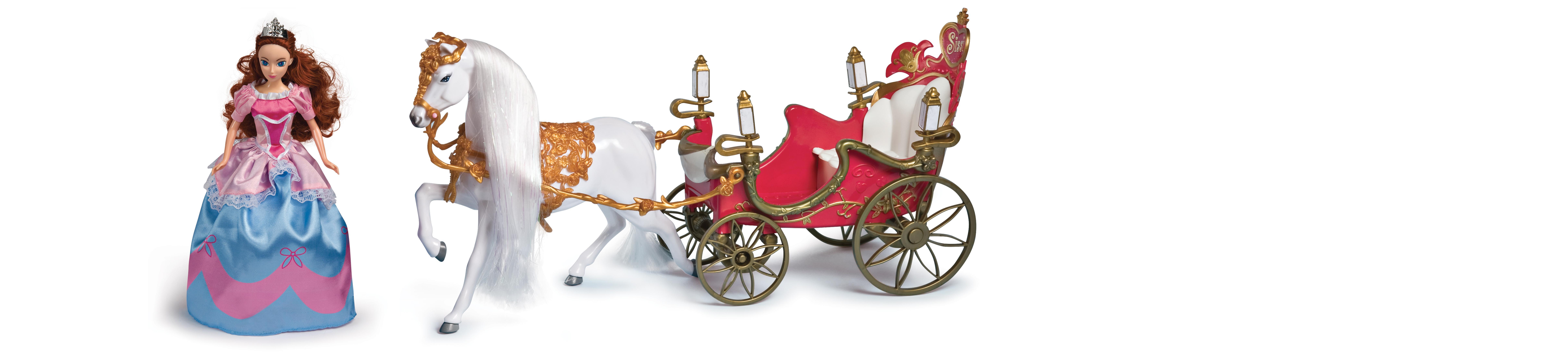 Grandi giochi gg bambola sissi con carrozza amazon