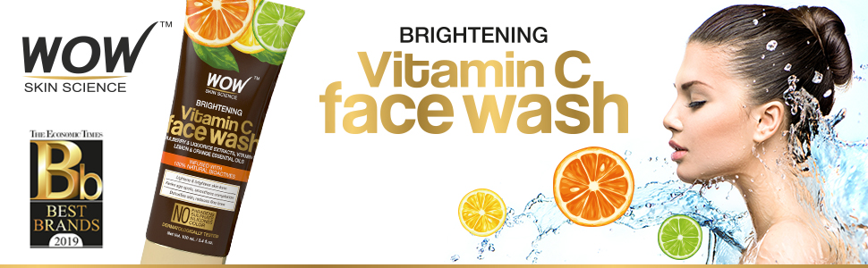 WOW Brightening Vitamin C Face Wash - 100 mL