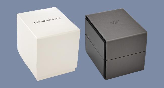 Emporio Armani Designer Watch Gift Packaging