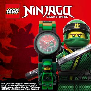 Lego Ninjago Wristwatch:8021421 Masters of Spinjitzu LLOYD       ***£14***
