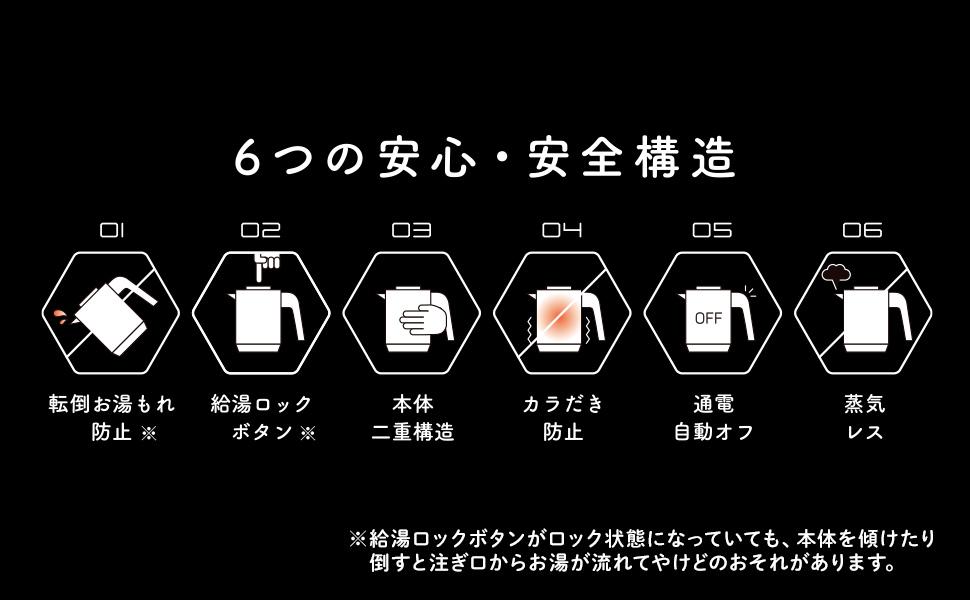 6つの安心・安全構造