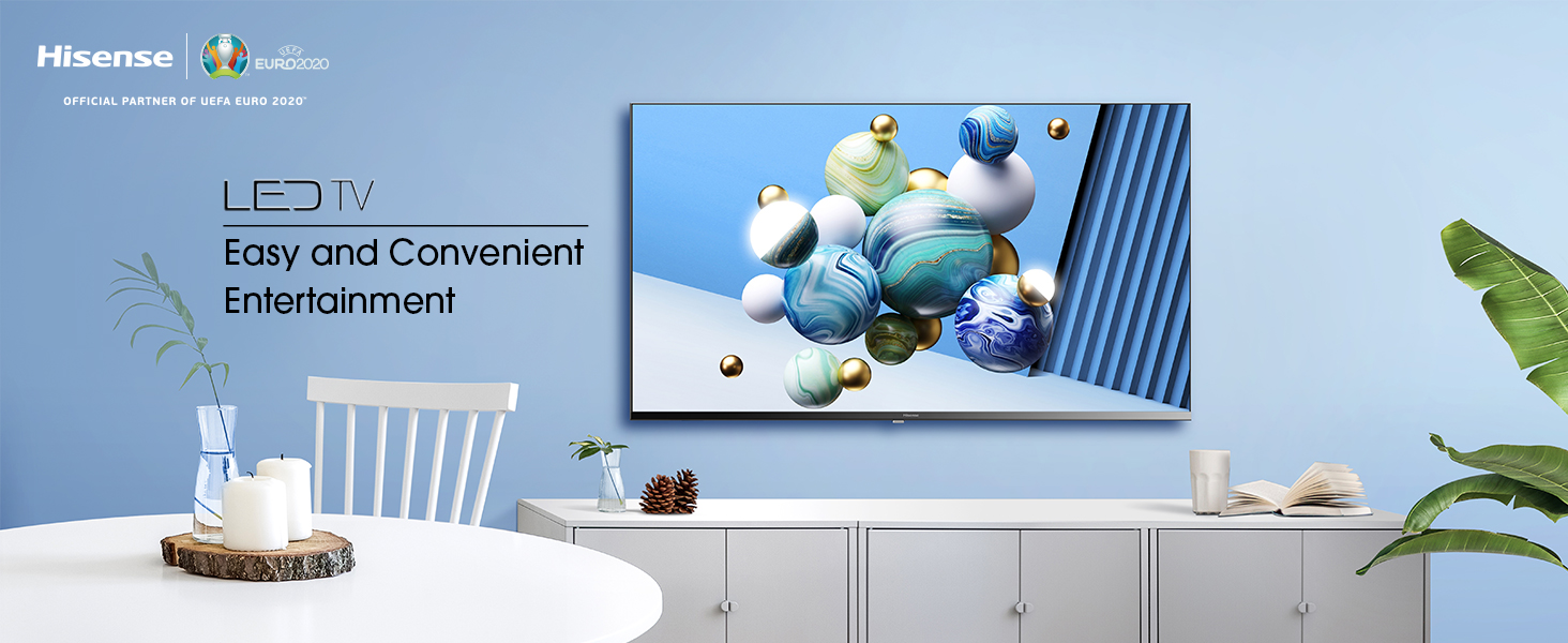 Hisense HD TV 2020 32AE5000F - Feature TV Resolución Full HD, Natural Color Enhancer, Dolby Audio, HDMI, USB, Salida auriculares: Amazon.es: Electrónica