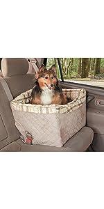 Amazon Com Petsafe Solvit 62432 Car Cuddler Small Grey Pet