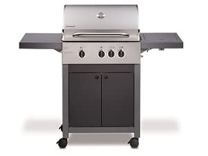 Enders Gasgrill Chicago Test : Enders bbq gasgrill boston 3 k gas grill 86916 3 edelstahl brenner