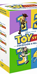 DVD PACK TOY STORY 4