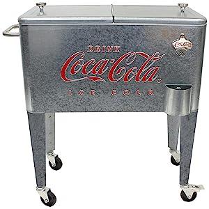 coke cooler retro vintage