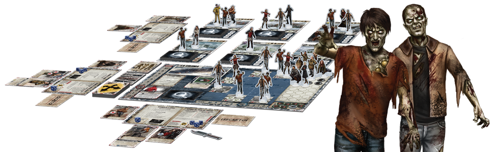 Edge Entertainment Dead of Winter - Juego de Mesa EDGXR01: Amazon ...