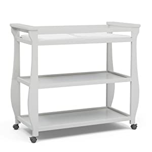 Delta Children Lancaster Changing Table available in White