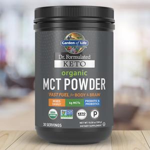 garden of life dr formulated keto mct powder