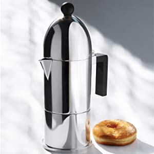Alessi Espresso coffee maker La cupola, design made in Italy