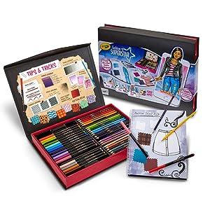 Crayola Fashion Superstar Designer - Package Contents