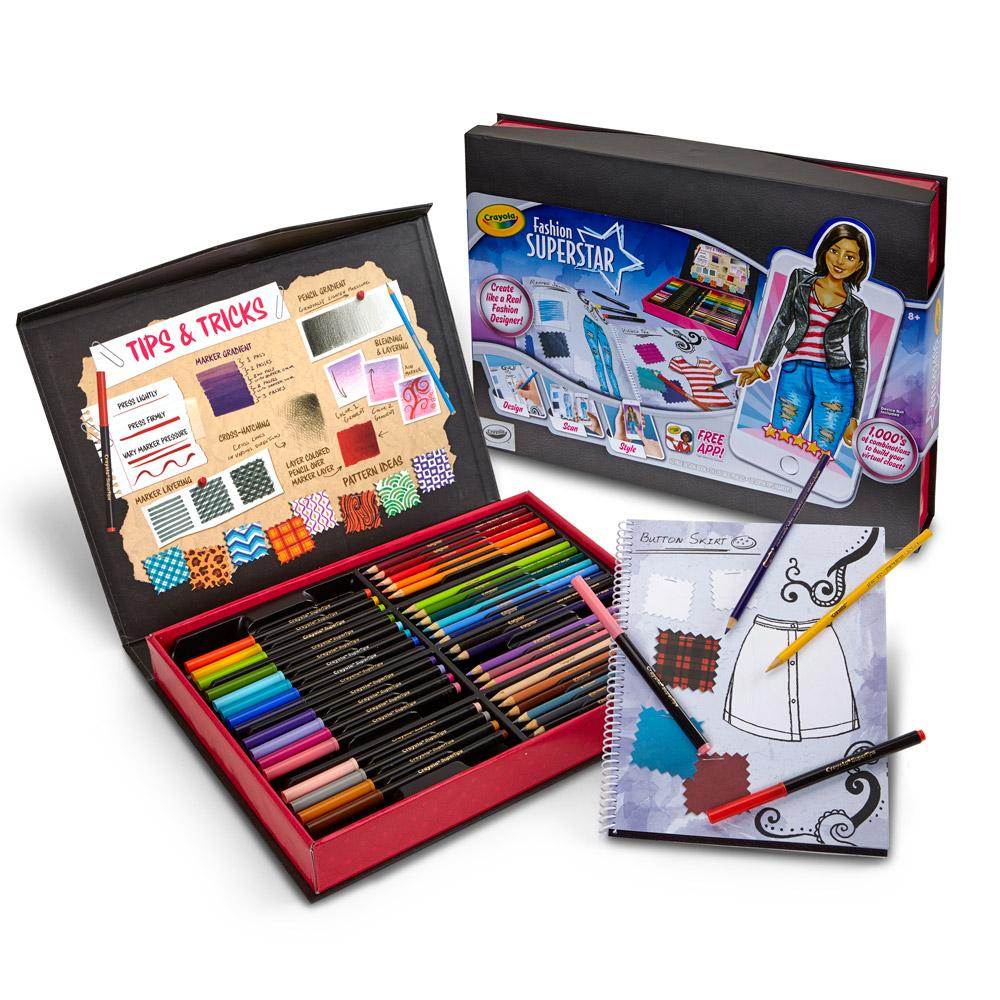 Buy Crayola Fashion Superstar Designer Toy Online At Low Prices In India Amazon In