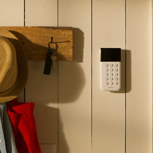 wireless home security keypad optional monitoring
