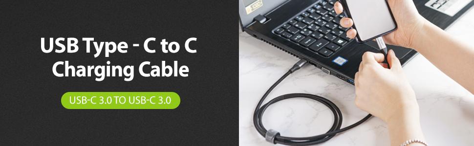 Cablu USB-C - USB-C 3.0 Ringke Premium