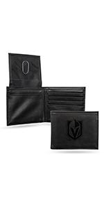 wallet,mens wallet,wallet for men,leather wallet,NHL,Golden Knights, Vegas Golden Knights