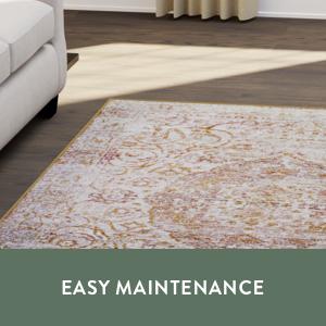 easy maintenance oriental rug