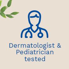 Hypoallergenic natural gentle skin care