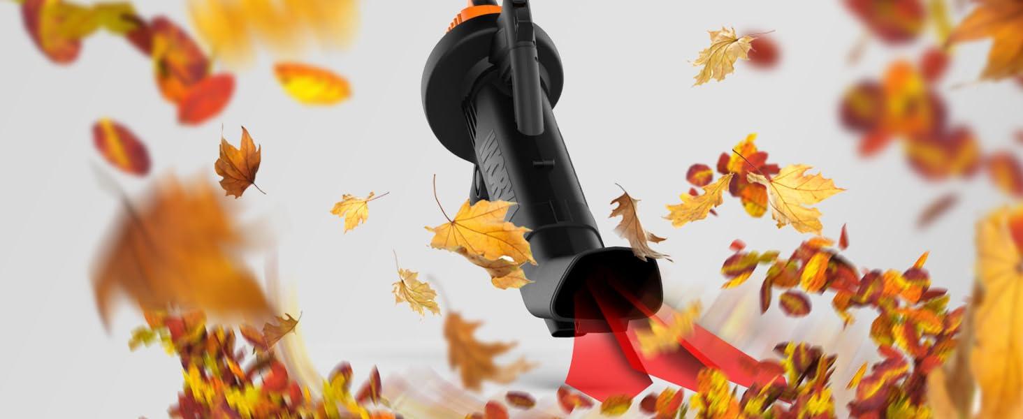 leaf blower, electric leaf blower, leaf mulcher, lawn vacuum, yard vacuum, leaf vacuum mulcher