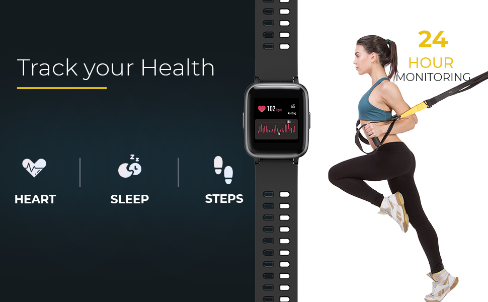 """Know your body / Health - Heart - Sleep - Steps"""