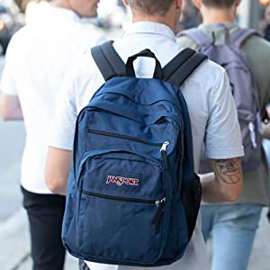 Big Student backpack is perfect forstudents or anyone who needs a little extra space