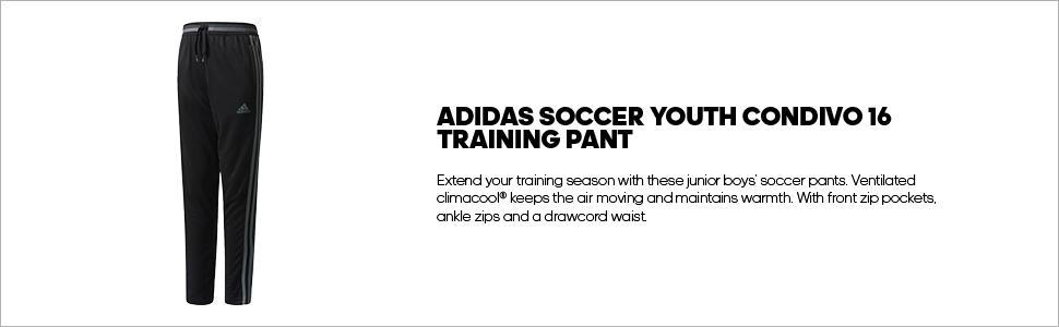 adidas Junior Condivo 16 Training Pants Collegiate NavyBlue