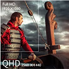 QHD Resolution Delivers Ultra-Clear Images (BenQ EX3203R)
