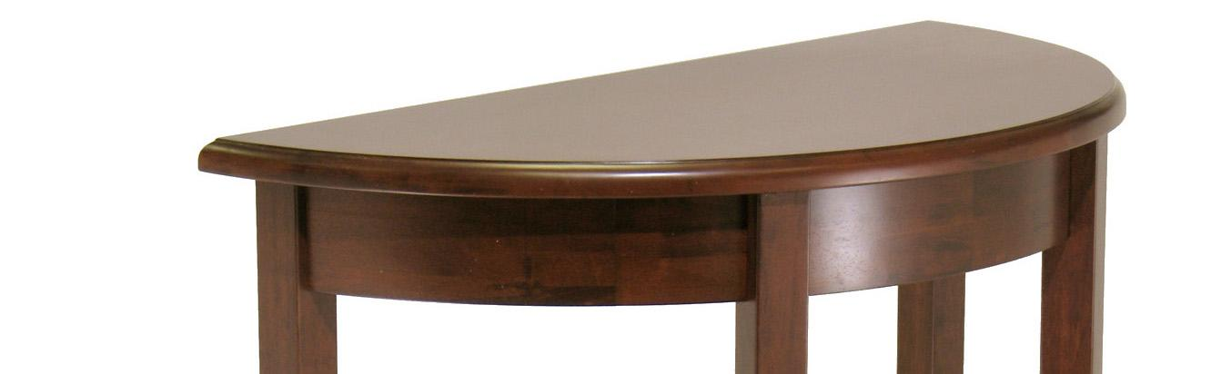 Winsome Wood Concord Half Moon Table Kitchen