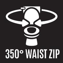 waist zip
