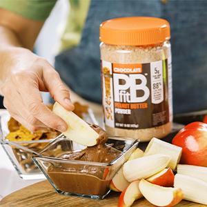pbfit chocolate peanut butter powder vegan peanut butter