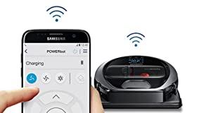 Samsung POWERbot R7070 Robot Vacuum wi-fi connectivity